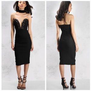 NWT Rare London Eyelet Midi Dress